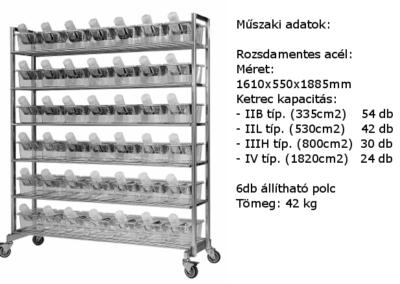 Mustinox állvány