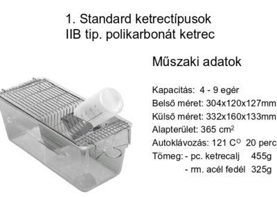 II B.tip polikarbonát ketrec